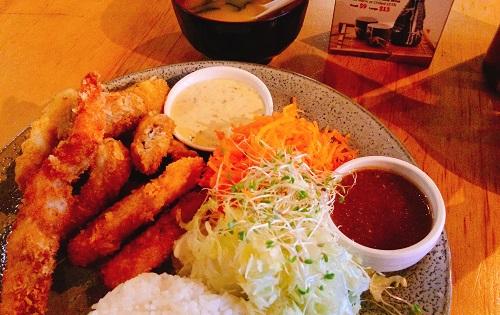 ダニーデンの日本食レストランJizoのランチ