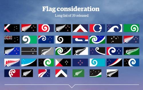 ニュージーランド国旗40の案