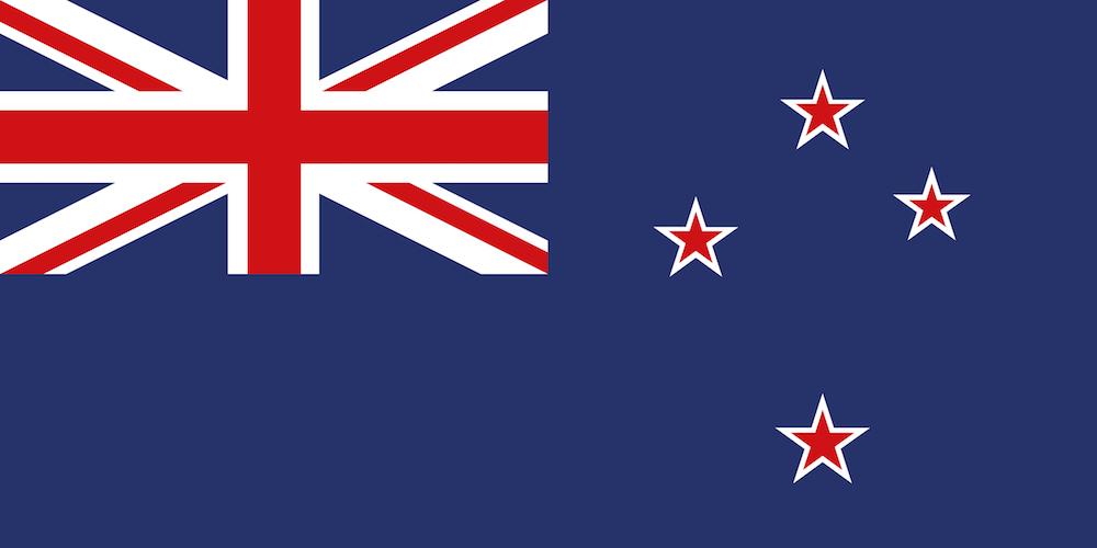 現在のニュージーランド国旗