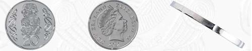 ニュージーランド20セント硬貨