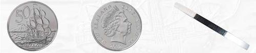 ニュージーランド50セント硬貨