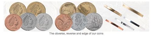 ニュージーランドの硬貨