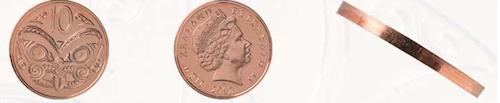 ニュージーランド10セント硬貨