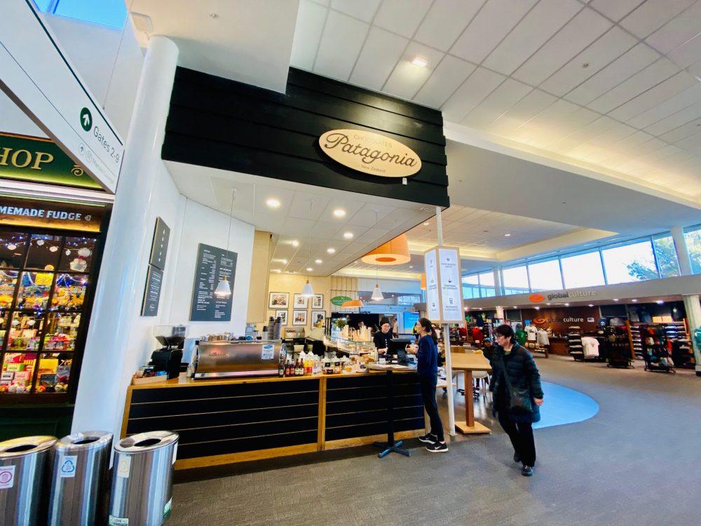 クイーンズタウン空港のパタゴニアチョコレート