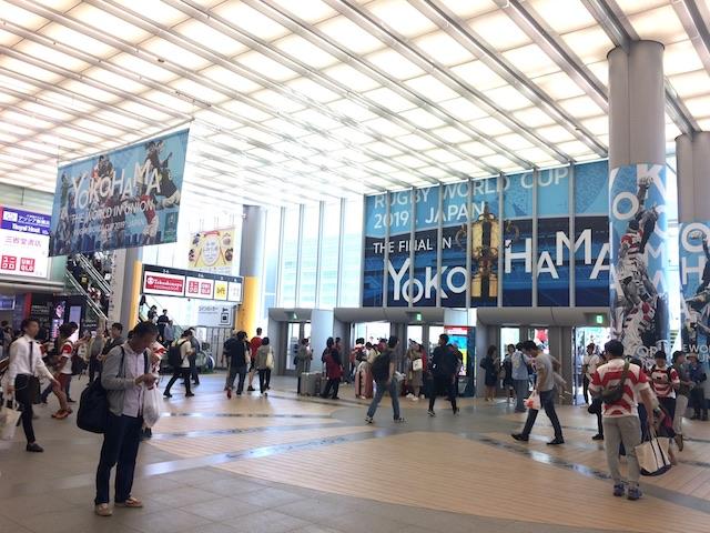 日本へ国内妄想旅行でワールドカップラグビー観戦