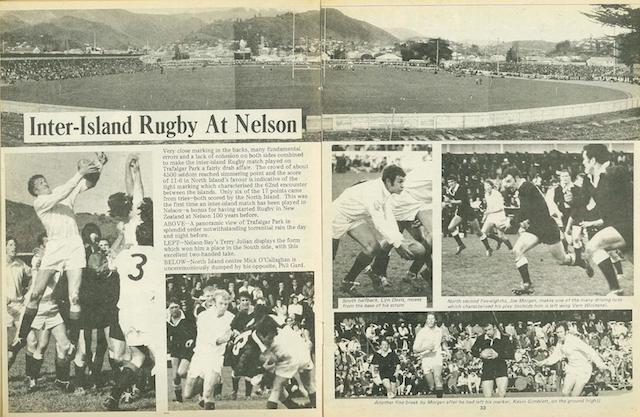 ニュージーランド・ラグビー北島vs南島の歴史は?
