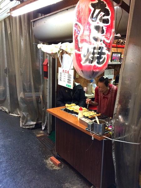日本妄想旅行でおいしいたこやきを堪能