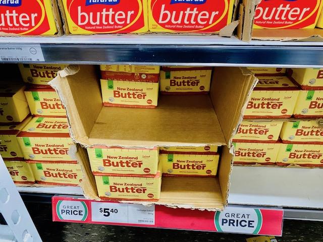 ニュージーランドのバターの特徴は?