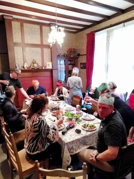 ニュージーランドのクリスマスの食事