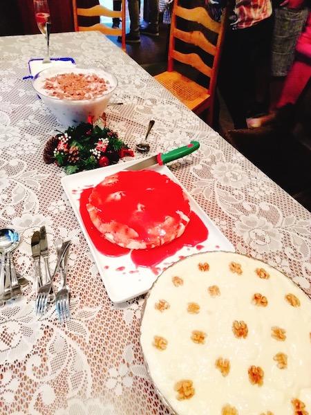 ニュージーランドのクリスマスケーキ類